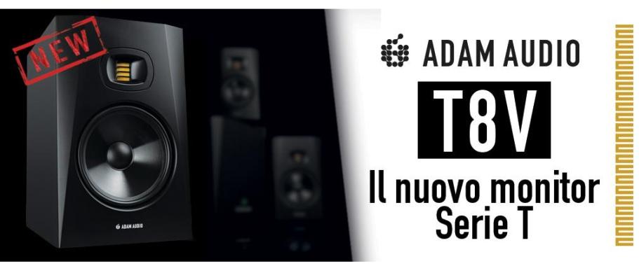 nuovo monitor T8V di Adam Audio