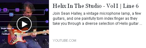 HELIX in the studio - Line 6