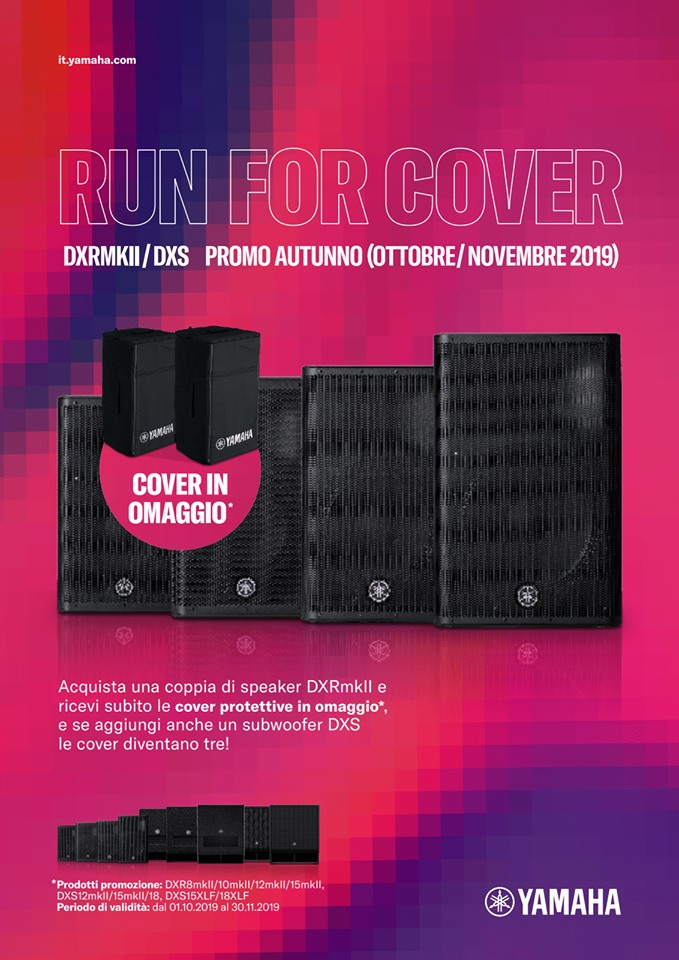 Presentazione Yamaha RUN FOR COVER